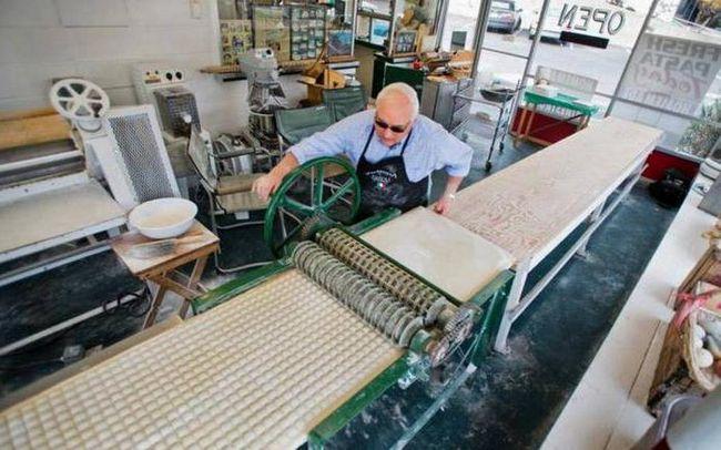 Za ravioli oprema: proizvodnja, lajsne i proizvodnji. Oprema za proizvodnju knedle