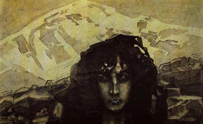 slika demona u pesmi demon