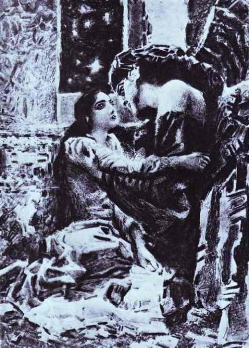 slika demona u Lermontov pesmu