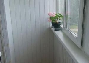plastičnih panela oblaganje balkona
