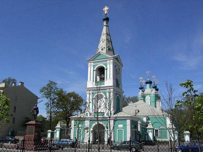 Opis Sampson katedrale. Sampson Katedrala u Sankt Peterburgu