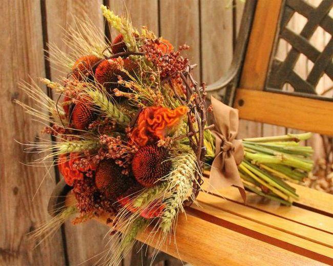 Jesen vjenčanje ukras
