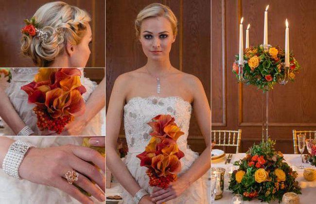Vjenčanje u jesen stilu