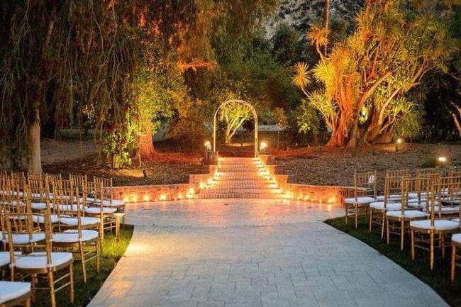Jesen vjenčanje ukras hale