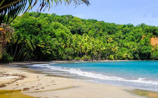 островов в карибском море