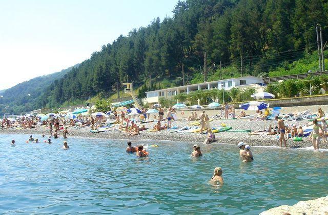 Odmoriti na Kavkazu na moru