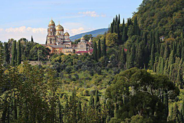 Počivaj u Abhaziji u oktobru. Ocjene i fotografije turista