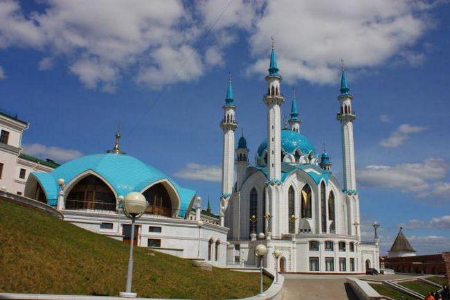 gdje hodati u Kazan