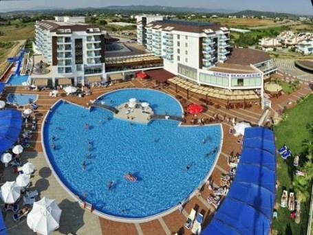 Hotel cenger plaža (Turska): fotografije i recenzije