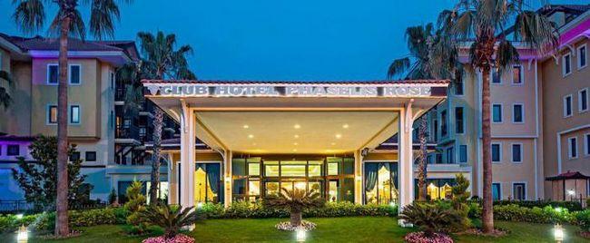 Hotel Club Phaselis: recenzije, fotografije, ocjene. Club Hotel Phaselis porasla 5 *