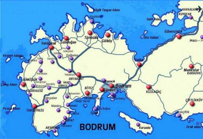 Hotel petunya plaža 4 * (Turska / Bodrum): recenzije i fotografije
