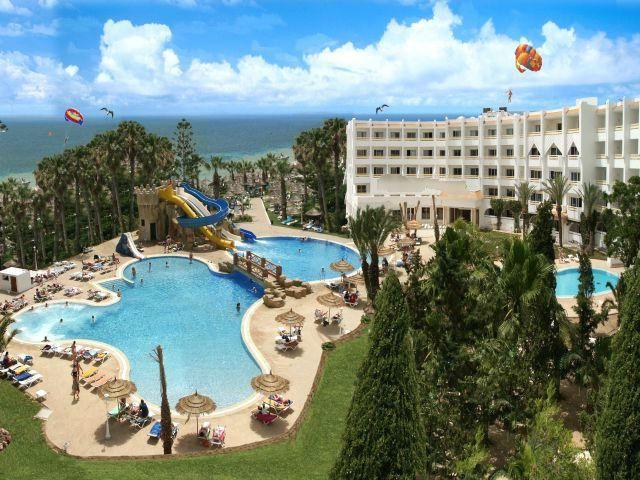 Hoteli u Tunis s vodeni park