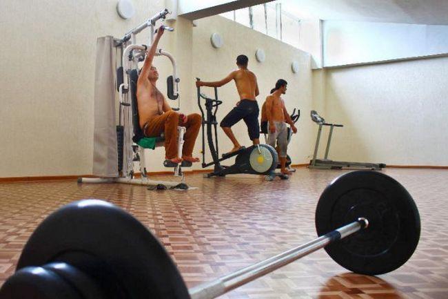 fitness u pansionu Musser