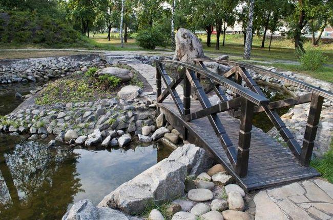 """Park """"Kyoto"""" - komad Japana u glavnom gradu Ukrajine"""