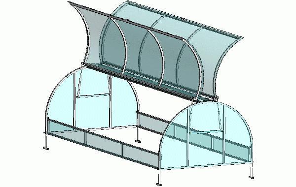 Greenhouse breadbox rukama crtanje