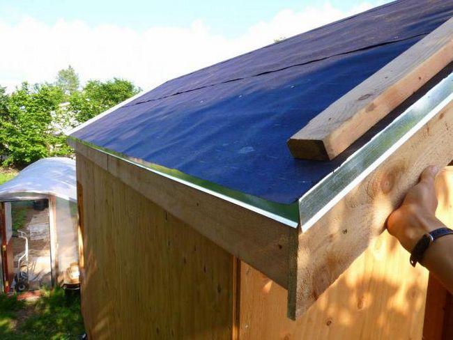 ugradnja parne brane krova