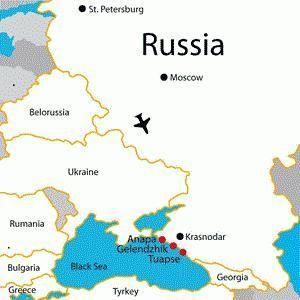 Theodosius udaljenost Krasnodar