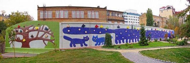 Пейзажная аллея в киеве - красочная сказка в центре города
