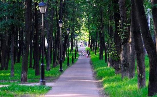 Петровский парк и его достопримечательности