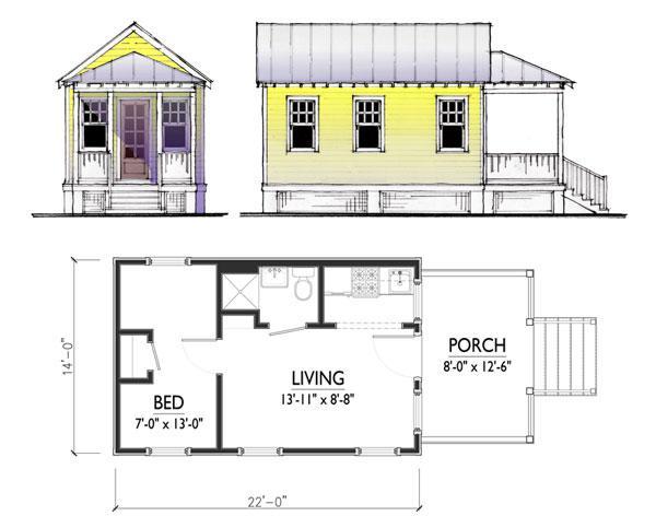 6x6 kuća projekti