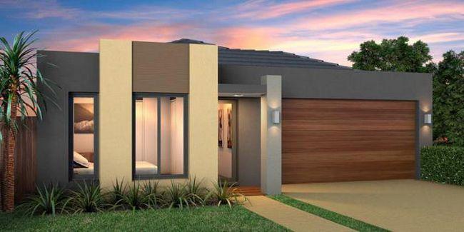 Планировка одноэтажного дома 12 на 12 с гаражом