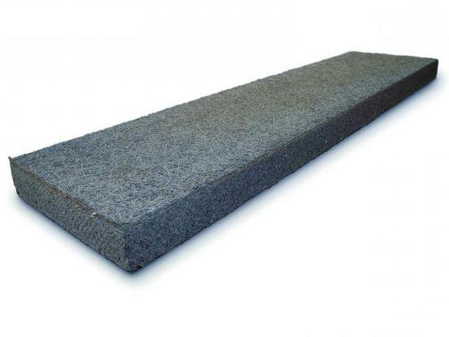 cementne ploče čestica vezani