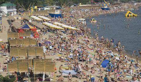 plažama Anapa