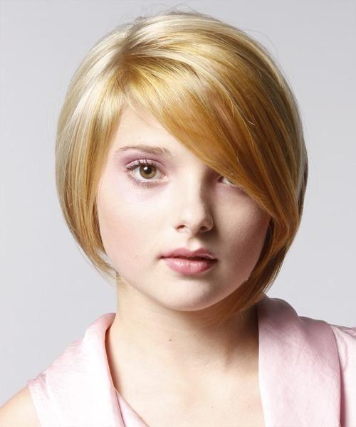 Frizura za kratku kosu za okruglog lica