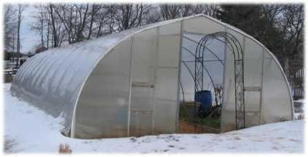 Priprema polikarbonata plastenika za zimu