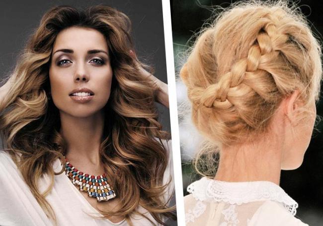 Полина репик: прически на длинные волосы
