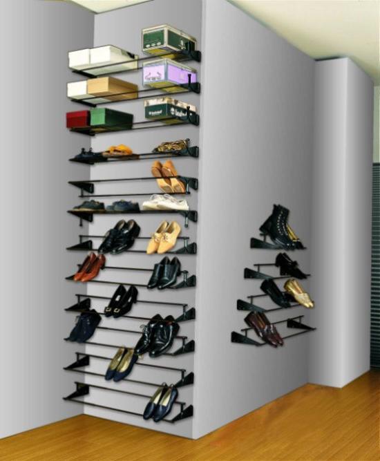 полка для обуви металлическая