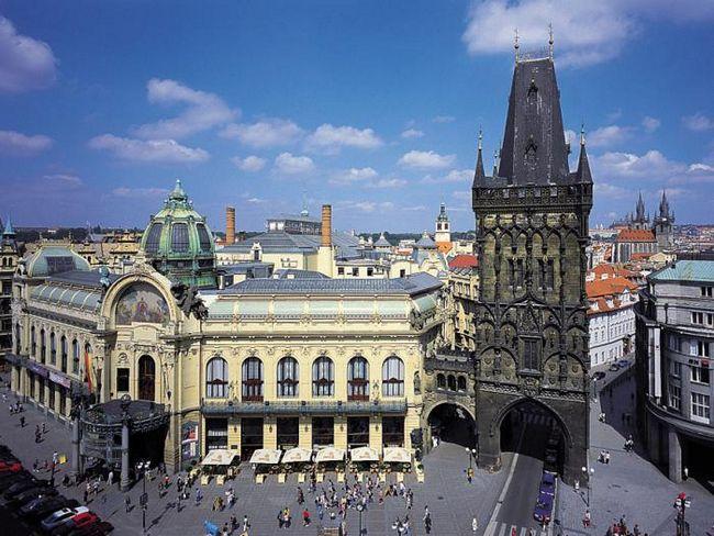 Пороховая башня. Прага и ее достопримечательности