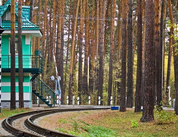 Zaeltsovskiy Park Novosibirsk Foto