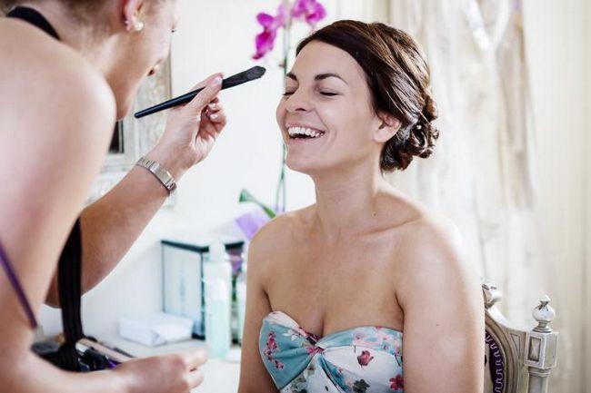 Priprave na poroko fotografijo