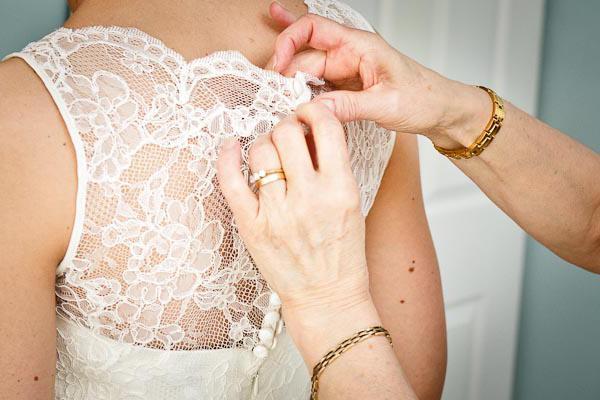 za pripravo poroko svoje hčerke