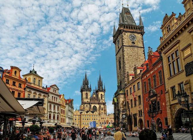 Glavnom gradu Češke Republike