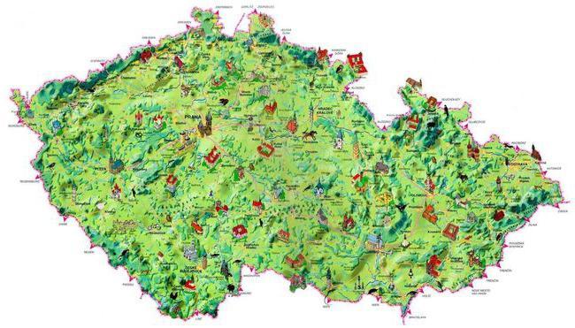 Prag na mapi