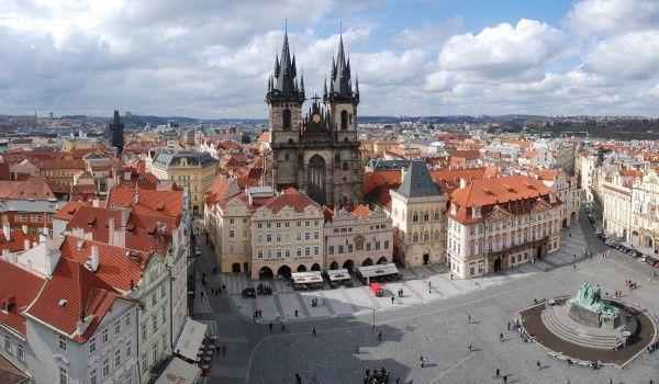 centru Praga