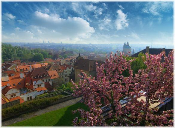 Vrijeme u Pragu maj