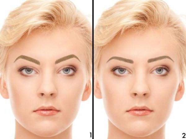koji oblik obrva za ovalno lice