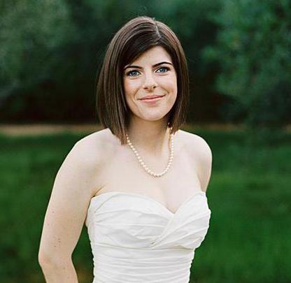 Frizure za četvorki - vjenčanje ideje