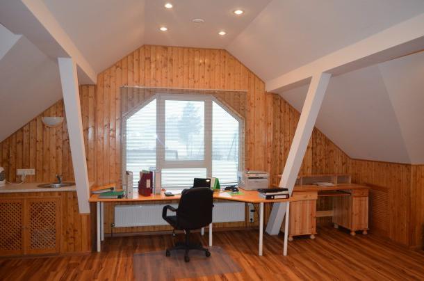 kuća projekt od 6x9 građa sa potkrovljem i terasom