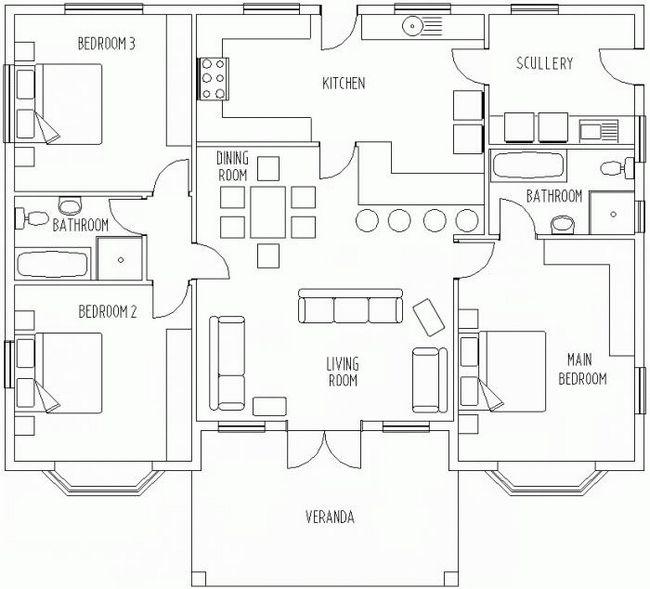 Projekti prizemne kuće