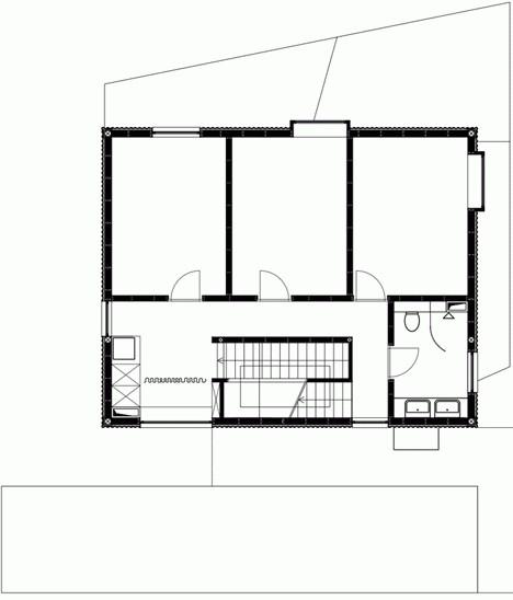 vrtna kućica projekt