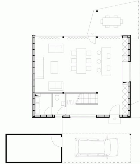 projekti kuća sa potkrovljem