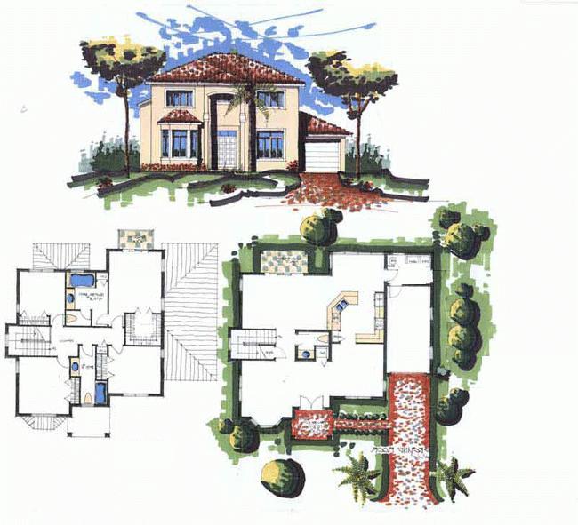 štit vrt kuće
