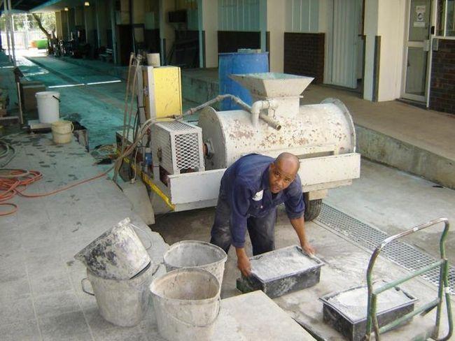 Pjena betona sa svojim rukama