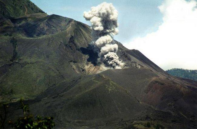 Действующие вулканы на бали
