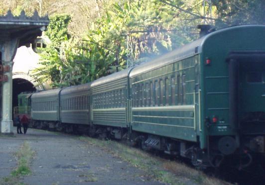 U Abhaziji vlakom