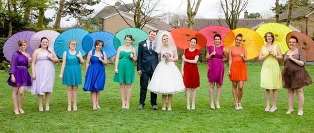 «Радужная свадьба» - все цвета радуги для вашего праздника!